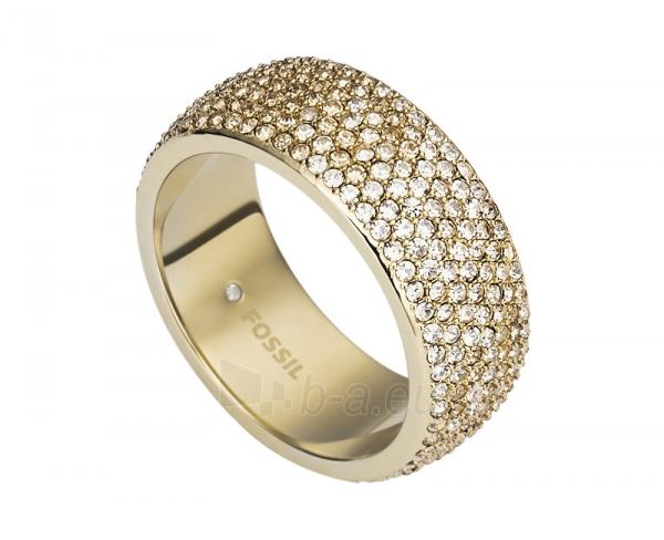 Fossil žiedas su kristalu JF02148710 (Dydis: 56 mm) Paveikslėlis 1 iš 1 310820042061