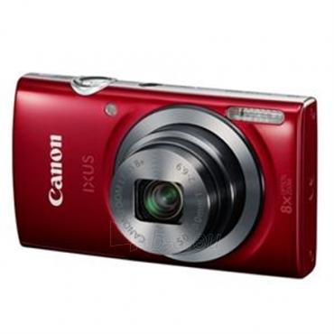 Fotoaparatas Canon Digital IXUS 160 Red Paveikslėlis 4 iš 4 250222021693