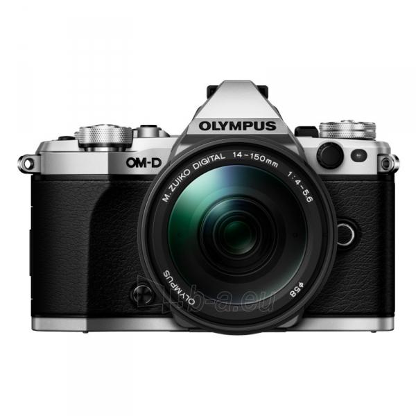 Fotoaparatas E-M5 MarkII 14-150 Silver/Black Paveikslėlis 2 iš 4 310820217367
