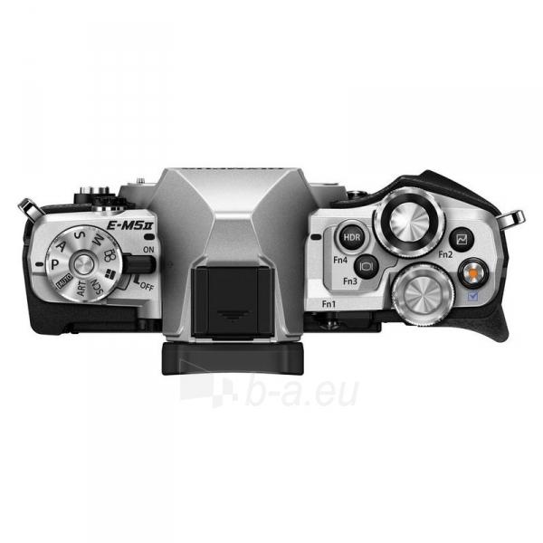 Fotoaparatas E-M5 MarkII 14-150 Silver/Black Paveikslėlis 3 iš 4 310820217367