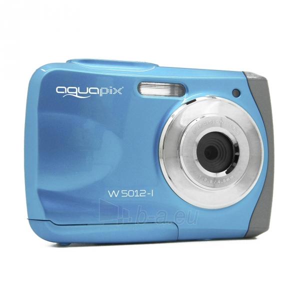 Fotoaparatas Easypix AquaPix W5012-I Splash iceblue 10087 Paveikslėlis 9 iš 10 310820215818