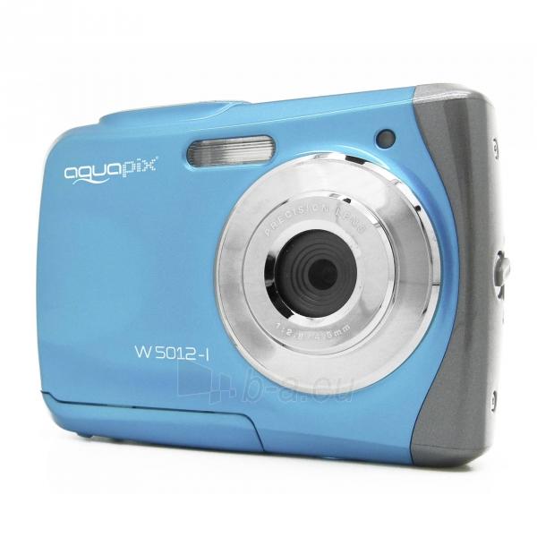 Fotoaparatas Easypix AquaPix W5012-I Splash iceblue 10087 Paveikslėlis 8 iš 10 310820215818