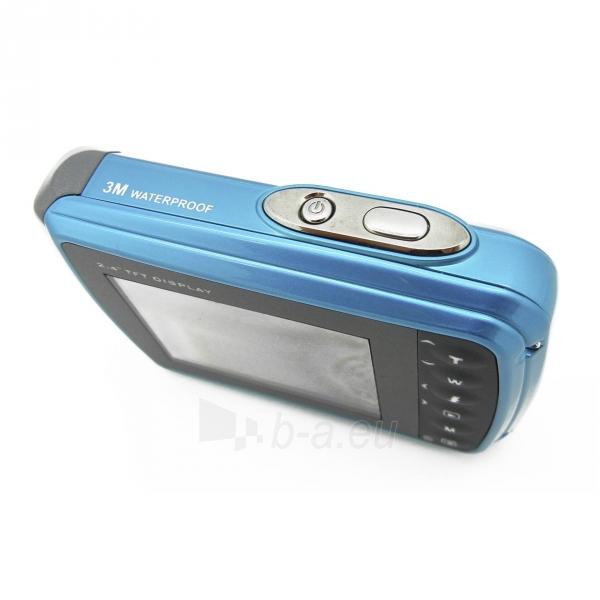 Fotoaparatas Easypix AquaPix W5012-I Splash iceblue 10087 Paveikslėlis 6 iš 10 310820215818