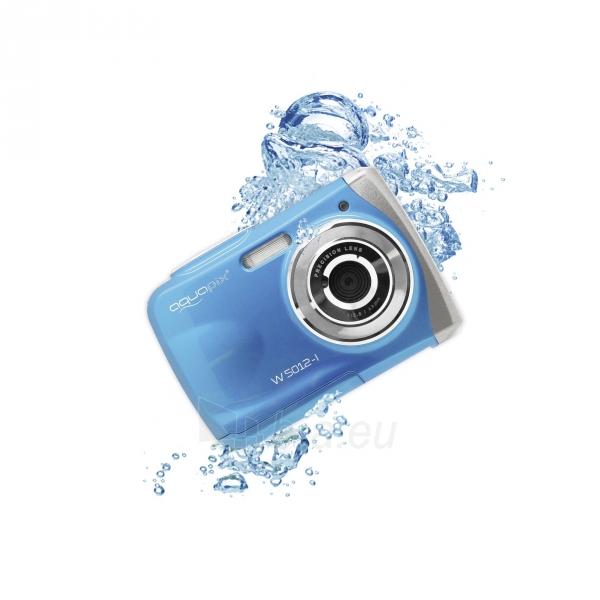 Fotoaparatas Easypix AquaPix W5012-I Splash iceblue 10087 Paveikslėlis 4 iš 10 310820215818