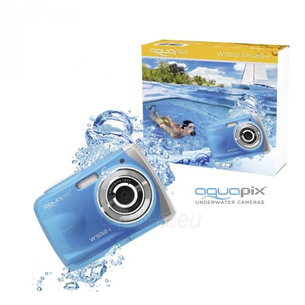 Fotoaparatas Easypix AquaPix W5012-I Splash iceblue 10087 Paveikslėlis 10 iš 10 310820215818