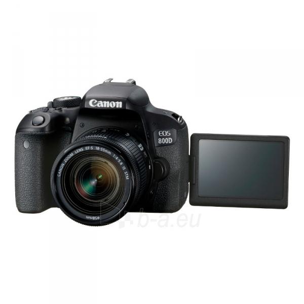 Fotoaparatas EOS 800D+18-55 IS STM Paveikslėlis 2 iš 5 310820163524