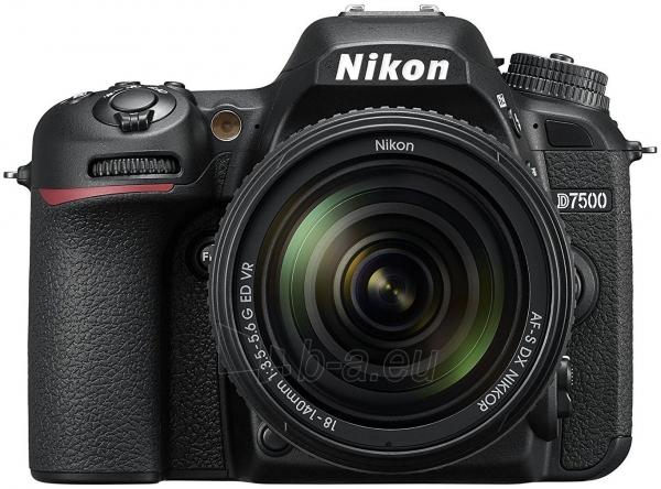 Fotoaparatas Nikon D7500 + AF-S DX 18-140mm f/3.5-5.6G ED VR Paveikslėlis 1 iš 5 310820152362
