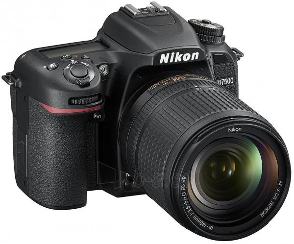 Fotoaparatas Nikon D7500 + AF-S DX 18-140mm f/3.5-5.6G ED VR Paveikslėlis 2 iš 5 310820152362