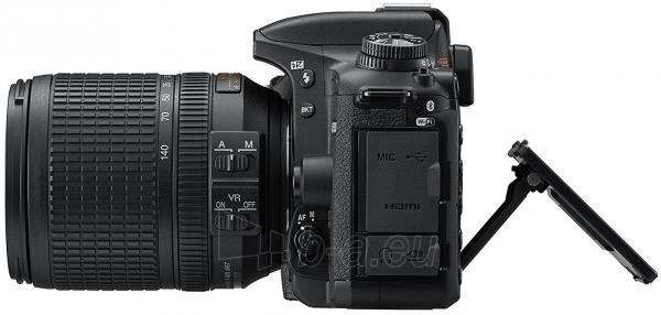 Fotoaparatas Nikon D7500 + AF-S DX 18-140mm f/3.5-5.6G ED VR Paveikslėlis 4 iš 5 310820152362
