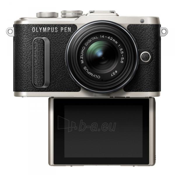 Digital camera Olympus E-PL8 1442IIR Kit blk/blk Paveikslėlis 2 iš 5 310820226383
