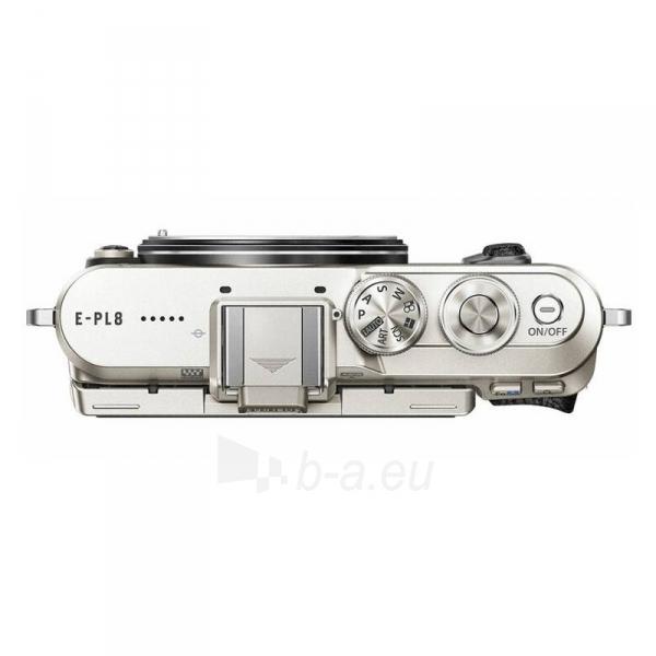 Digital camera Olympus E-PL8 1442IIR Kit blk/blk Paveikslėlis 5 iš 5 310820226383