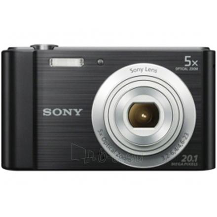 Fotoaparatas Sony DSC W800 Black Paveikslėlis 1 iš 1 250222021664