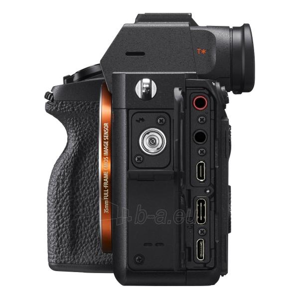 Fotoaparatas Sony ILCE-7RM4 Body Paveikslėlis 3 iš 4 310820226385