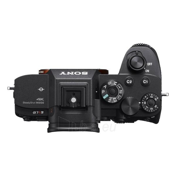 Fotoaparatas Sony ILCE-7RM4 Body Paveikslėlis 4 iš 4 310820226385