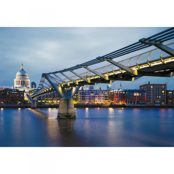 Fototapetas Komar 8-924 Milenium Bridge, 368 × 254 cm Paveikslėlis 1 iš 1 30110100105