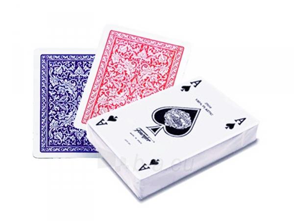 Fournier 2508 pokerio kortos (Raudonos) Paveikslėlis 1 iš 3 251010000196