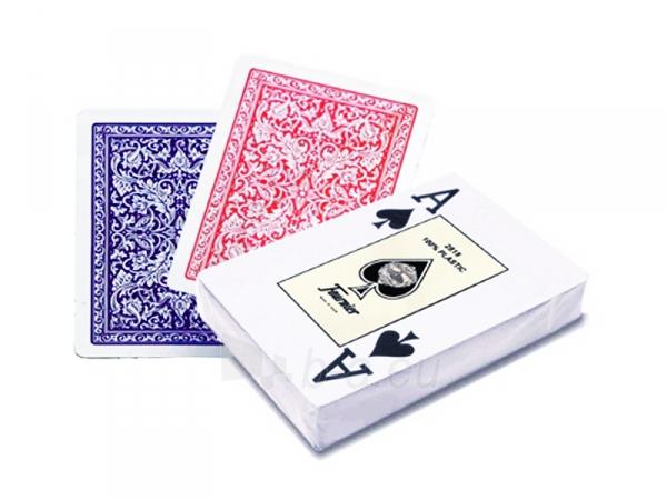 Fournier 2818 pokerio kortos (Raudonos) Paveikslėlis 1 iš 3 251010000200
