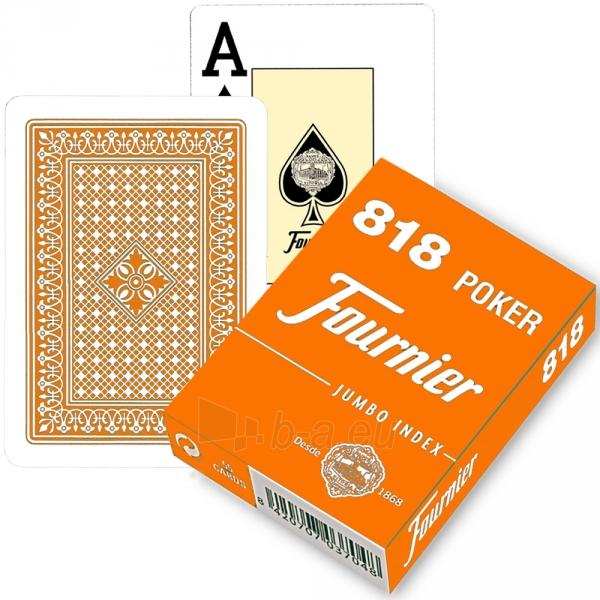 Fournier 818 pokerio kortos (Orandžinė) Paveikslėlis 2 iš 3 310820103888