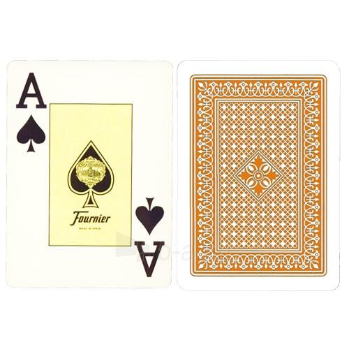 Fournier 818 pokerio kortos (Orandžinė) Paveikslėlis 3 iš 3 310820103888