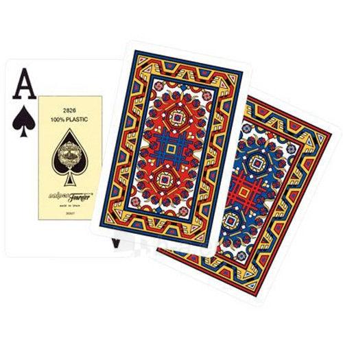Fournier Maya bridžo kortos (Raudonos ir mėlynos) Paveikslėlis 2 iš 3 310820127434
