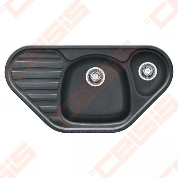 Fragranit plautuvė FRANKE Calypso COG651-E su ekscentriniu ventiliu, grafito spalvos Paveikslėlis 1 iš 2 270712000640