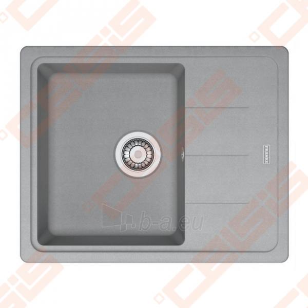 Fragranit universali pagal įstatymo puses plautuvė FRANKE Basis BFG611-62 su ventiliu, akmens pilkos spalvos Paveikslėlis 1 iš 1 270712000709