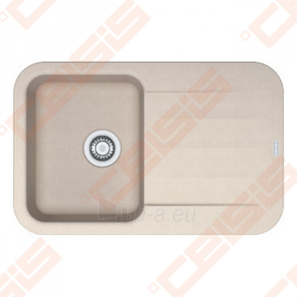 Fragranit universali pagal įstatymo puses plautuvė FRANKE Pebel PBG611 su ekscentriniu ventiliu ir indu, sachara spalvos Paveikslėlis 1 iš 3 270712000744