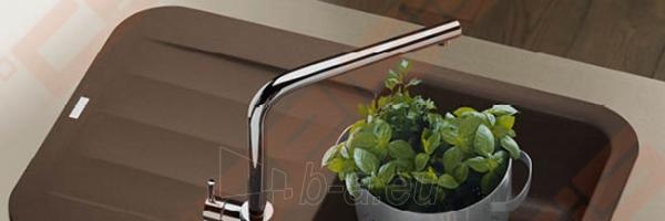 Fragranit universali pagal įstatymo puses plautuvė FRANKE Pebel PBG611 su ekscentriniu ventiliu ir indu, šokolado spalvos Paveikslėlis 3 iš 3 270712000745