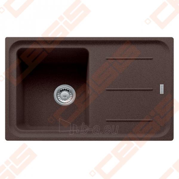 Fragranit universali plautuvė FRANKE Impact G IMG611 su ventiliu ir indu, šokolado spalvos Paveikslėlis 1 iš 2 270712000770