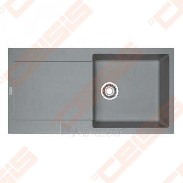 Fragranit universali plautuvė FRANKE Maris MRG611-100 su ventiliu, pilkos akmens spalvos Paveikslėlis 1 iš 2 270712000815