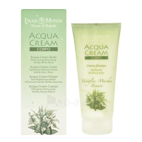 Frais Monde Acqua Body Cream Vanilla And White Musk Cosmetic 200ml Paveikslėlis 1 iš 1 250850201269