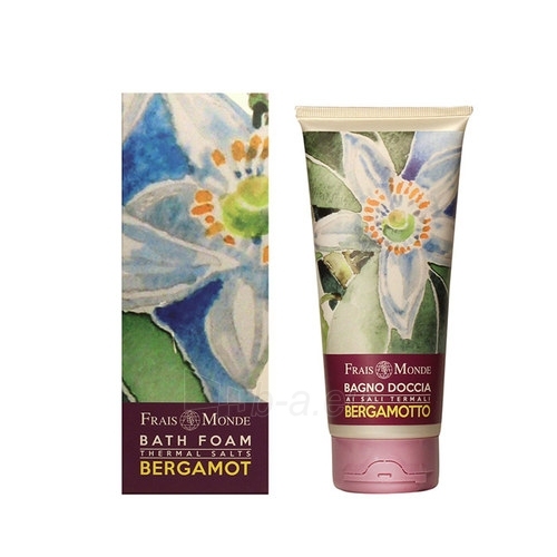 Frais Monde Bath Foam Thermal Salts Bergamot Cosmetic 200ml Paveikslėlis 1 iš 1 250897000095