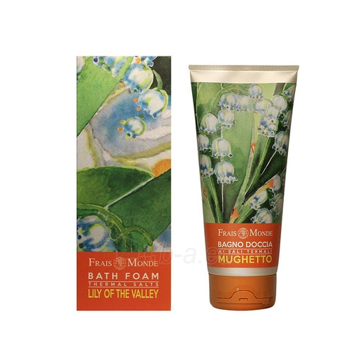Frais Monde Bath Foam Thermal Salts Lily Of The Valley Cosmetic 200ml Paveikslėlis 1 iš 1 250897000097