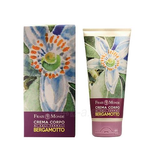 Frais Monde Bergamot Body Cream Cosmetic 200ml Paveikslėlis 1 iš 1 250850201480