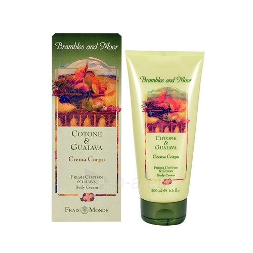Frais Monde Body Cream Fresh Cotton end Guava Cosmetic 200ml Paveikslėlis 1 iš 1 250850200614