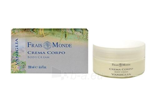Frais Monde Body Cream Vanilla Cosmetic 200ml Paveikslėlis 1 iš 1 2508022100049