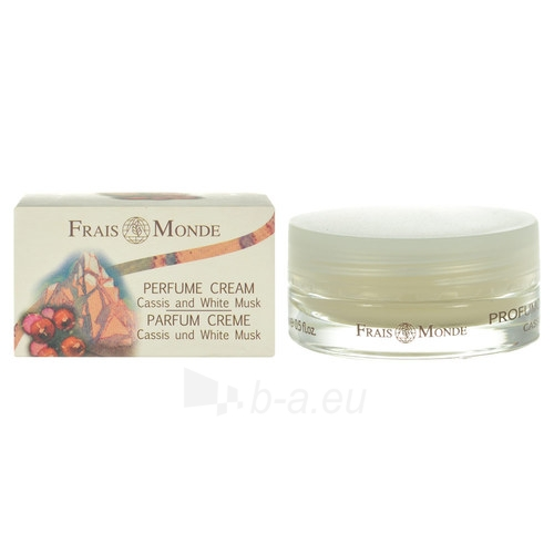 Frais Monde Cassis And White Musk Perfumed Cream Cosmetic 15ml Paveikslėlis 1 iš 1 250850201302
