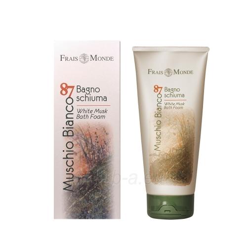 Frais Monde Muschio Bianco 87 White Musk Bath Foam Cosmetic 200ml Paveikslėlis 1 iš 1 2508950000963