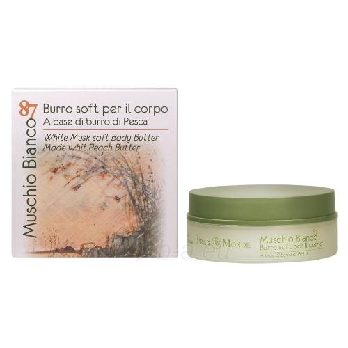 Frais Monde Muschio Bianco 87 White Musk Soft Body Butter Cosmetic 150ml Paveikslėlis 1 iš 1 250850201288