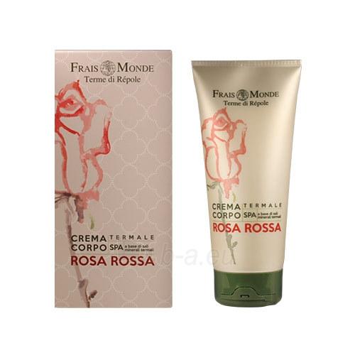 Frais Monde Red Rose Body Cream Cosmetic 200ml Paveikslėlis 1 iš 1 310820003457