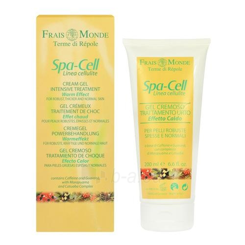Frais Monde Spa-Cell Linea Cellulite Cream Gel Warm Effect Cosmetic 200ml Paveikslėlis 1 iš 1 250850100147