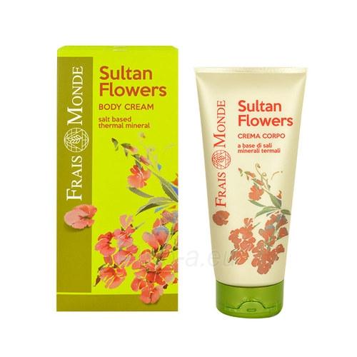 Frais Monde Sultan Flowers Body Cream Cosmetic 200ml Paveikslėlis 1 iš 1 250850201464