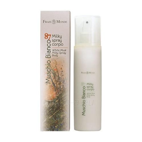 Frais Monde White Musk Milk Cream Body Spray Cosmetic 200ml Paveikslėlis 1 iš 1 250850201490
