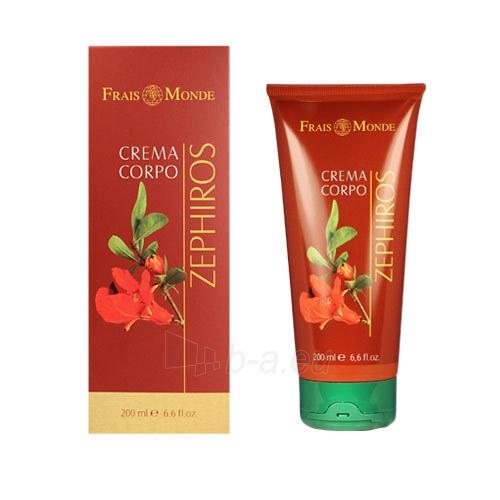 Frais Monde Zephiros Body Cream Cosmetic 200ml Paveikslėlis 1 iš 1 310820003463