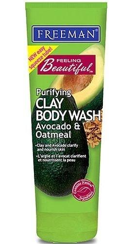 Freeman Body Shampoo Avocado & Oat Cosmetic 125ml Paveikslėlis 1 iš 1 2508950000002
