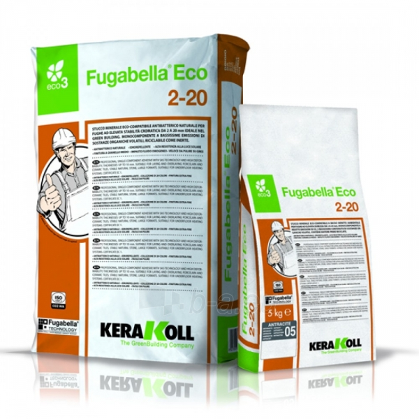 Fugabella Eco 2-20, 25 kg (2-20 mm) Paveikslėlis 1 iš 1 236790000648