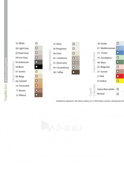 Fugalite Eco epoksidinis glaistas, 3 kg (0-20 mm) Paveikslėlis 2 iš 2 236790000632