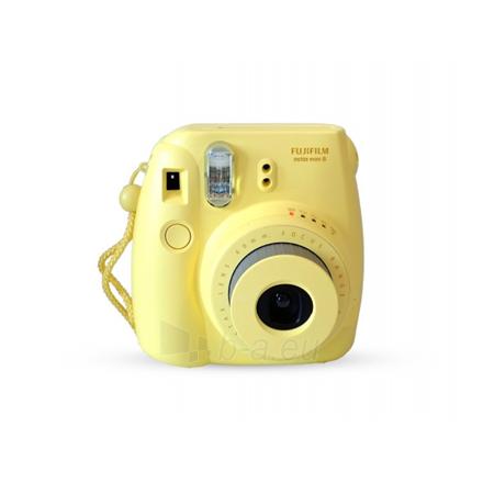 Fujifilm Instax Mini 8 Yellow + Instax mini glossy (10) Paveikslėlis 1 iš 1 250222040101581