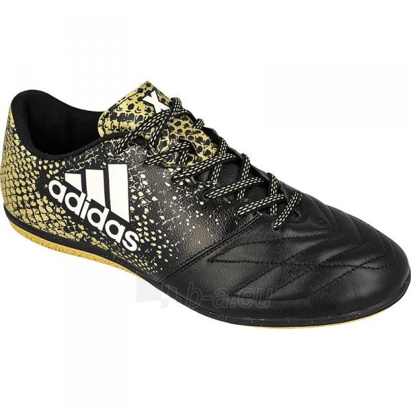 Futbolo bateliai adidas X 16.3 IN Leather Paveikslėlis 1 iš 3 310820084413