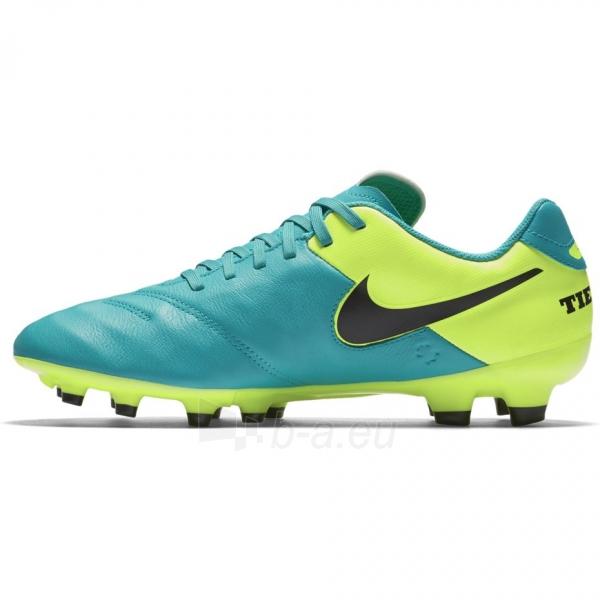 Futbolo bateliai NIKE Tiempo Genio II Leather FG 819213 307 Paveikslėlis 4 iš 4 310820141235